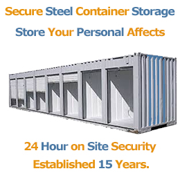 steel container storage